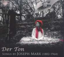 """Joseph Marx (1882-1964): Lieder """"Der Ton"""", CD"""
