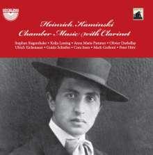 Heinrich Kaminski (1886-1946): Kammermusik mit Klarinette, CD