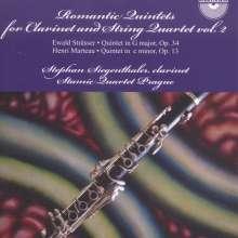 Ewald Strässer (1867-1933): Klarinettenquintett G-Dur op.34, CD