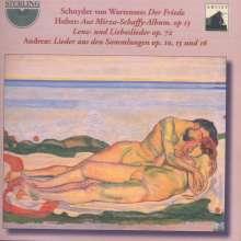 Volkmar Andreae (1879-1962): Lieder, CD