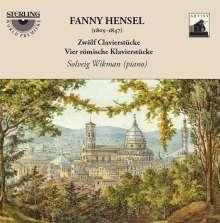 """Fanny Mendelssohn-Hensel (1805-1847): 12 Charakterstücke """"Für Felix"""", CD"""