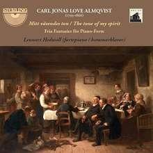 """Carl Jonas Love Almqvist (1793-1866): Fantasien für Klavier """"The tone of my spirit"""", 2 CDs"""