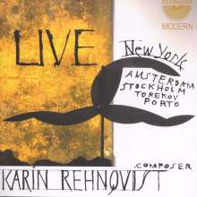 Karin Rehnqvist (geb. 1957): Karin Rehnqvist - Live, CD