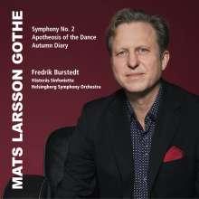 Mats Larsson Gothe (geb. 1965): Symphonie Nr.2, CD