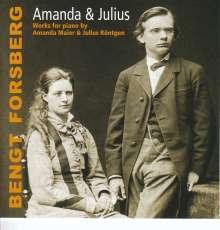 Bengt Forsberg - Amanda & Julius, CD