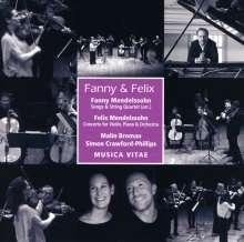 Felix Mendelssohn Bartholdy (1809-1847): Konzert d-moll für Violine,Klavier,Orchester, CD