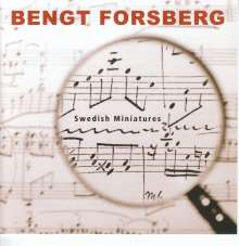 Bengt Forsberg - Swedish Miniatures, CD