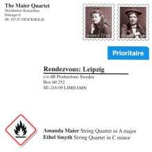 Amanda Maier (1853-1894): Streichquartett A-Dur, CD