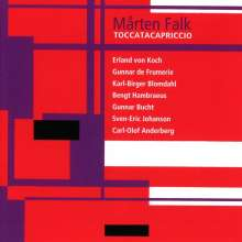 Marten Falk - Toccatacapriccio, CD