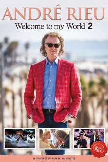 André Rieu: Welcome To My World 2, 3 DVDs