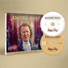 André Rieu: Happy Days (Deluxe Edition), 1 CD und 1 DVD
