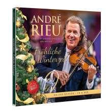 André Rieu: Fröhliche Winterzeit (Deluxe Edition), 1 CD und 1 DVD