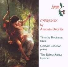 Antonin Dvorak (1841-1904): Zypressen für Streichquartett, CD