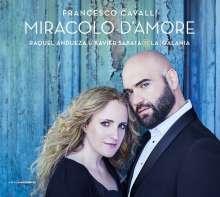 """Francesco Cavalli (1602-1676): Arien & Duette """"Miracolo D'Amore"""", CD"""