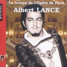 Albert Lance - La Troupe de l'Opera de Paris, CD