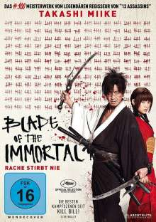 Blade of the Immortal, DVD