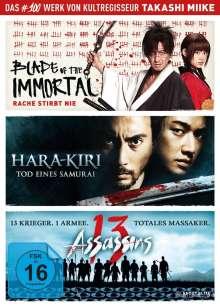 Takashi Miike Box, 3 DVDs