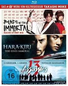 Takashi Miike Box (Blu-ray), 3 Blu-ray Discs