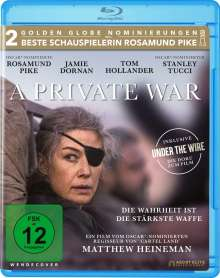A Private War (Blu-ray), Blu-ray Disc