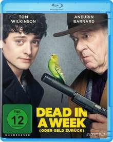 Dead in a Week (Blu-ray), Blu-ray Disc