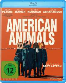 American Animals (Blu-ray), Blu-ray Disc