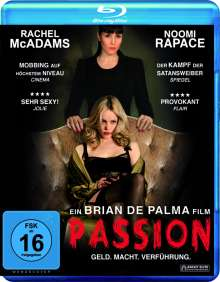 Passion (2012) (Blu-ray), Blu-ray Disc