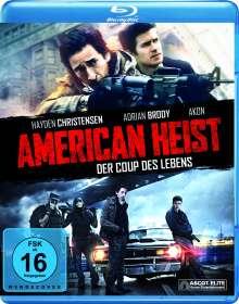 American Heist (Blu-ray), Blu-ray Disc