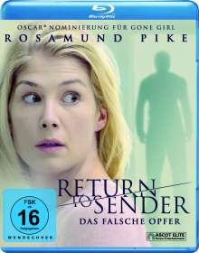 Return to Sender (Blu-ray), Blu-ray Disc