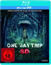 One Way Trip (3D Blu-ray), Blu-ray Disc