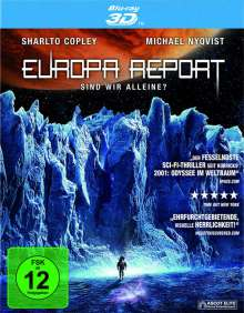 Europa Report (3D Blu-ray), Blu-ray Disc