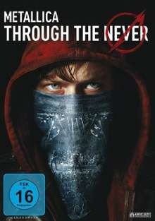 Metallica - Through The Never (OmU), 2 DVDs