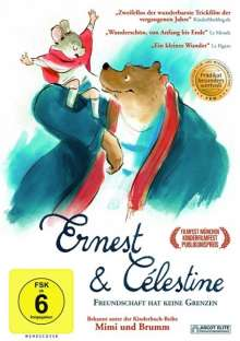 Ernest & Célestine, DVD