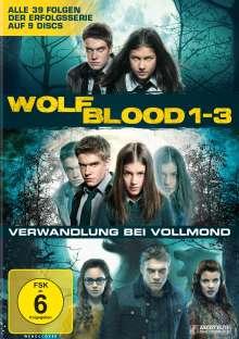 Wolfblood - Verwandlung bei Vollmond Staffel 1-3, 9 DVDs