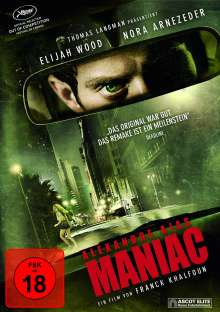 Alexandre Ajas Maniac, DVD