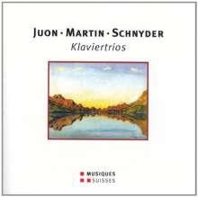 Daniel Schnyder (geb. 1961): Klaviertrio, CD
