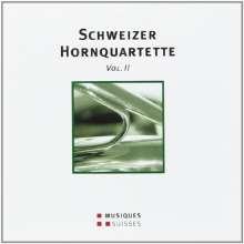 Hornquartett Zürich - Schweizer Hornquartette, CD