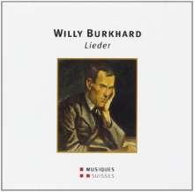 Willy Burkhard (1900-1955): Lieder nach Gedichten von Christian Morgenstern, CD
