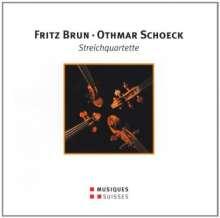 Fritz Brun (1878-1959): Streichquartett Nr.3, CD