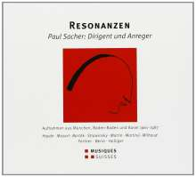 Paul Sacher - Resonanzen, 4 CDs
