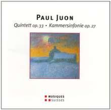 Paul Juon (1872-1940): Kammersymphonie op.27, CD