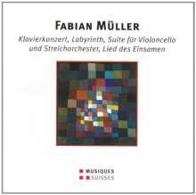 Fabian Müller (geb. 1964): Klavierkonzert, CD