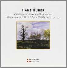 Hans Huber (1852-1921): Klavierquintett Nr.1 op.111, CD