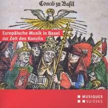 Europäische Musik in Basel zur Zeit des Konzils (15.Jh.), CD