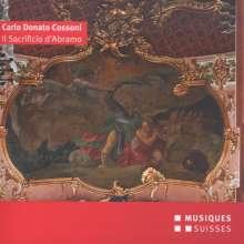 """Carlo Donato Cossoni (1623-1700): Geistliche Werke """"Il Sacrificio d'Abramo"""", CD"""