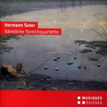 Hermann Suter (1870-1926): Streichquartette Nr.1-3, CD