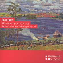 Paul Juon (1872-1940): Silhouettes für 2 Violinen & Klavier opp.9 & 43, CD