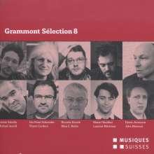 Grammont Selection 8 - Schweizer Uraufführungen 2014, 2 CDs