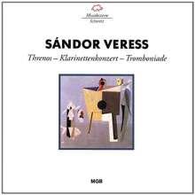 Sandor Veress (1907-1992): Klarinettenkonzert, CD