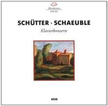 Meinrad Schütter (1910-2006): Klavierkonzert, CD