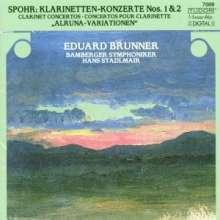 Louis Spohr (1784-1859): Klarinettenkonzerte Nr.1 & 2, CD